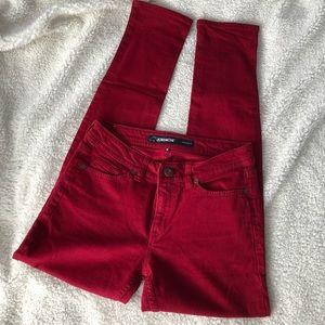 Jordache Red Skinny Jeans